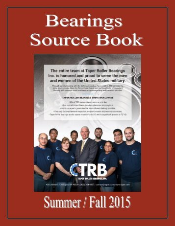 Bearings Source Book