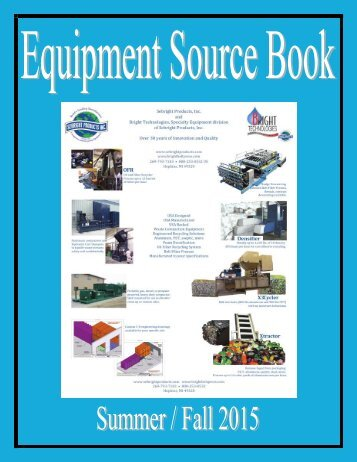 Equipment Source Book
