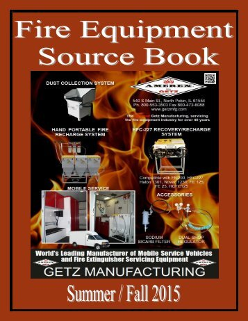 Fire Equipment Source Book