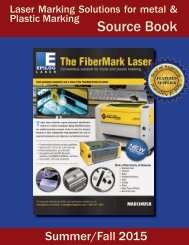 Laser Marking Solutions for metal & plastic marking Source Book