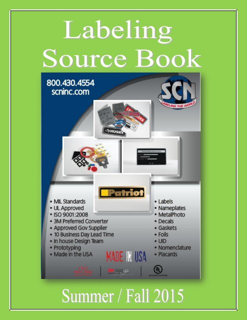 Labeling Source Book