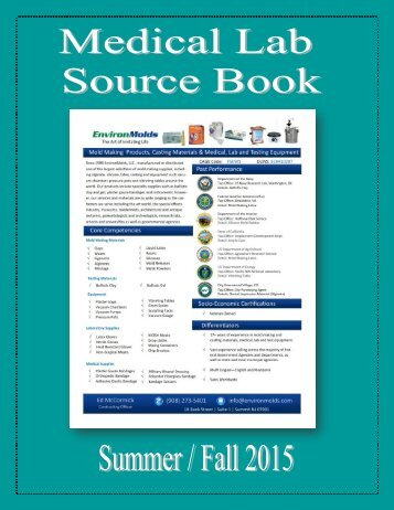 Medical Lab Source Book