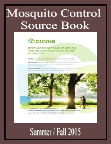Mosquito Control Source Book