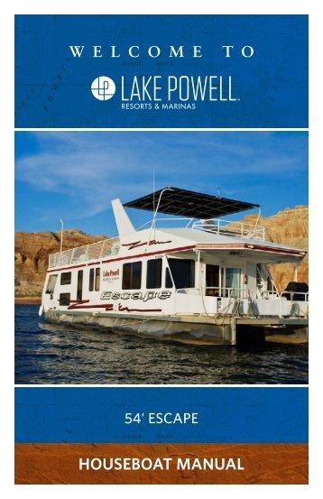 54' Escape Houseboat Manual