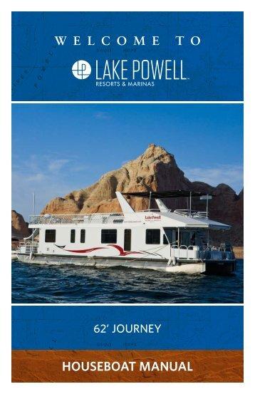 62' Journey Houseboat Manual