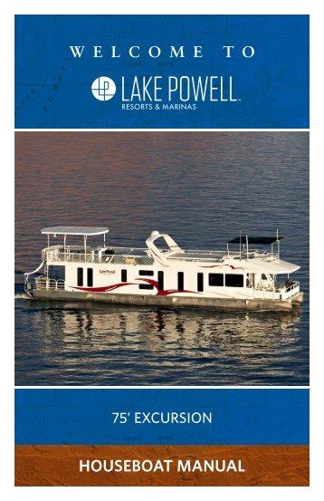 75' Excursion Houseboat Manual