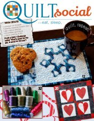 QUILTsocial | Issue 02 Winter 2014-15