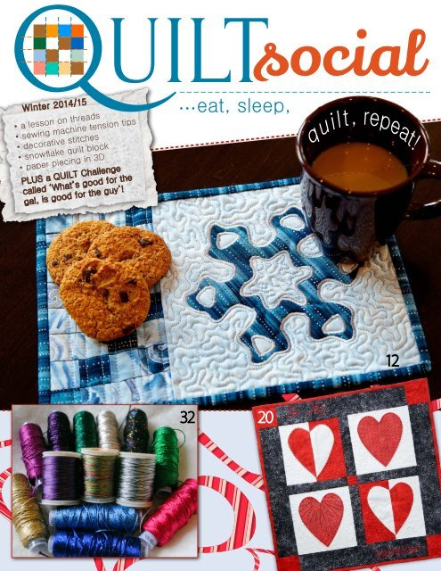 QUILTsocial   Issue 02 Winter 2014-15