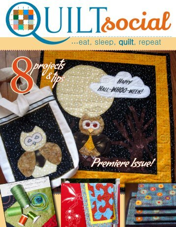 QUILTsocial Issue 01 Fall 2014 Premiere Issue