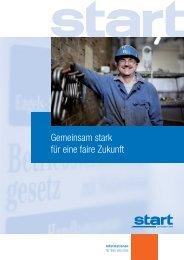 Gemeinsam stark für eine faire Zukunft - START Zeitarbeit NRW GmbH