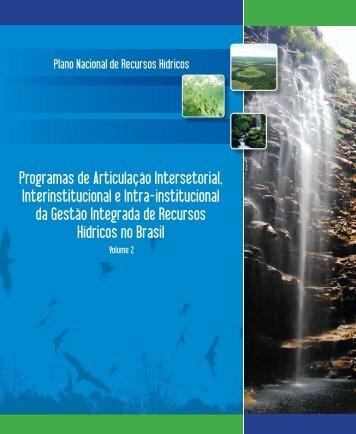 Programas de Articulação Intersetorial, Interinstitucional e ... - CNRH