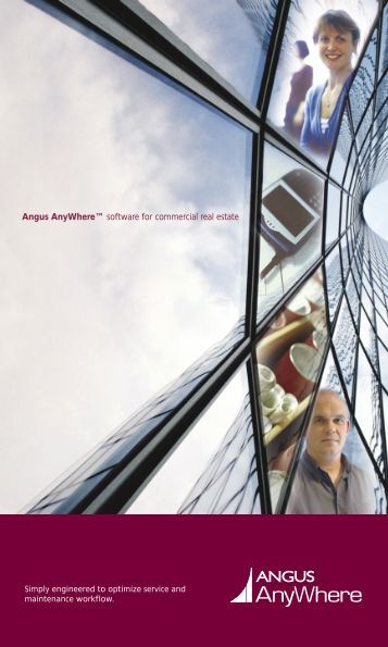 "Angus AnyWhereâ""¢ software for commercial real estate"