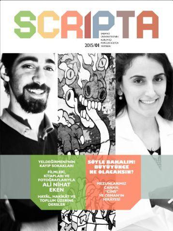 Scripta 1 - Türkçe
