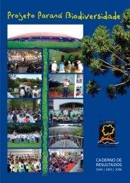 Caderno de Resultados 2007 - Secretaria do Meio Ambiente e ...