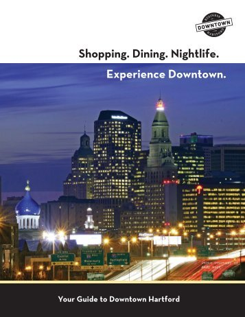 Downtown Directory and Dining Guide Winter ... - MetroHartford