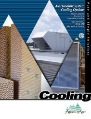 Air-Handling System Cooling Options - AbsolutAire