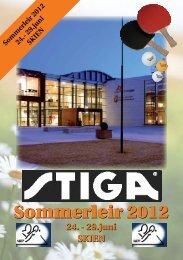 Stiga sommerleir 2012 - Norges Bordtennisforbund