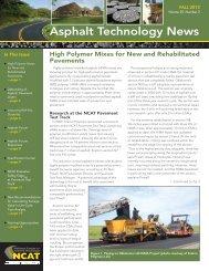 Asphalt Technology News - Auburn University