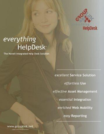 everything HelpDesk® - GroupLink