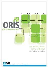 ORIS PRESS MATCHER WEB Pt. 2 - Schmitz at work GmbH