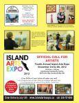 MAGAZINE www.islandartsmag.ca - Island Arts Magazine - Page 2