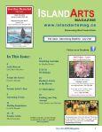 MAGAZINE www.islandartsmag.ca - Island Arts Magazine - Page 3
