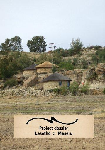 Project dossier Lesotho :: Maseru - Livingstone
