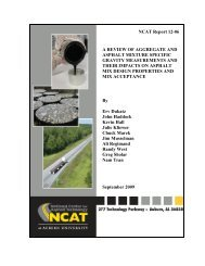 A Review of Aggregate and Asphalt Mixture Specific Gravity ...