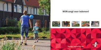 2011: 'WSN zorgt voor iedereen!' - Woningstichting Nijkerk