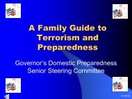 A Family Guide to Terrorism and Preparedness - This Web site ...