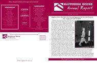 Annual Report - Happiness House