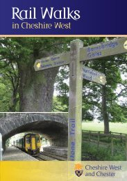 Rail Walks in Cheshire West