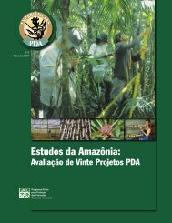 Estudos da Amazônia: - Ministério do Meio Ambiente