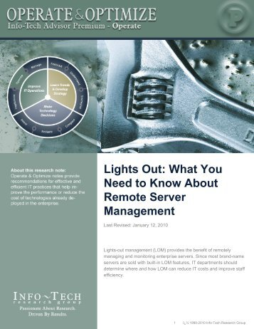 Lights Out: What You Need to Know About Remote Server ...