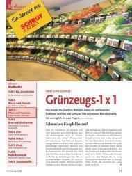 Bio-Basiswissen: Obst und Gemüse (Schrot&Korn 5/2008)