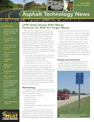 Asphalt Technology News - Auburn University