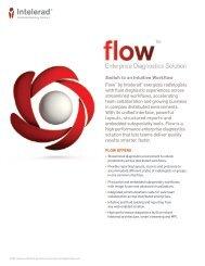 "Flowâ""¢ Enterprise Diagnostics Solution Brochure - Intelerad"