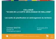 Christian Bastin - Service géologique de Wallonie