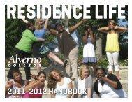 2011-2012 HANDBOOK - Alverno College