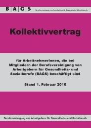 Kollektivvertrag - Österreichischer Bundesverband für Psychotherapie