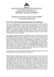 Lorbeer 2007 - Österreichischer Bundesverband für Psychotherapie