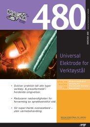 Universal Elektrode for Verktøystål - abema