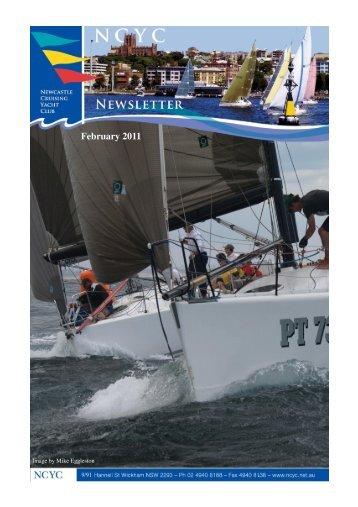 2011 February newsletter - Newcastle Cruising Yacht Club