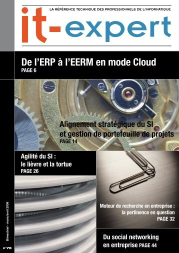 De l'ERP à l'EERM en mode Cloud - IT-expert