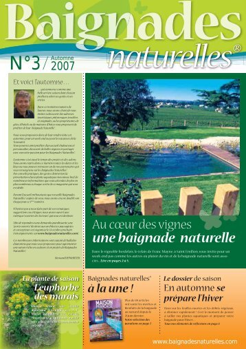 une baignade naturelle - Bioteich