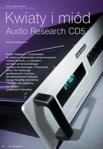 52-55 Audio Research - Audiofast