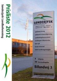 Sønderjysk Landboforening • Billundvej 3 • 6500 Vojens • Tlf. 7320 ...