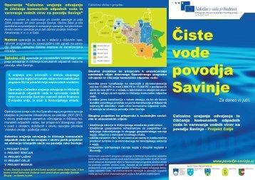 Čiste vode povodja Savinje - Zelena Slovenija