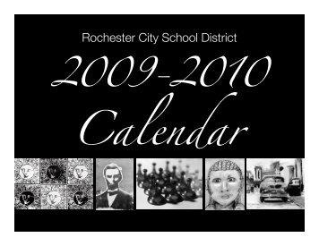 2010-2011 School Calendar - Rochester City School District
