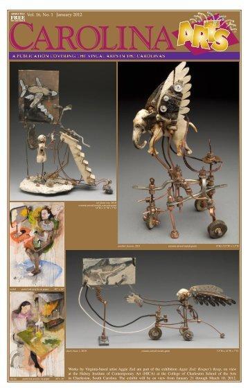 Vol. 16, No. 1 January 2012 - Carolina Arts